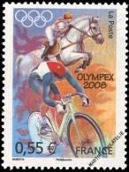 YT4222 Année:2008 Jeux Olympiques D´été à Pékin (Chine) En 2008 : Equitation Et Cyclisme - Francia