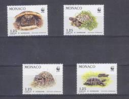 FZ--047- TORTUES WWF -   N° 1805/08, * * , COTE 6.80 €  ,  Liquidation - Unused Stamps