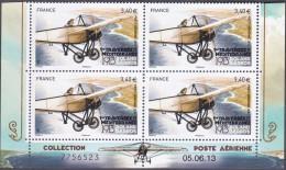 France Coin Daté - N°  77 C ** Poste Aérinne - Première Traversée De La Méditerranée Par Roland Garros Au 05.06.2013 - Aéreo