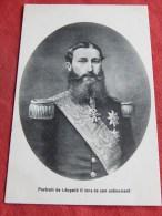 BRUXELLES  -   S. M. Léopold II , Portrait Lors De Son Avènement - Monuments, édifices