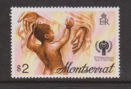 Montserrat 1979 IYC Child Single MNH - Montserrat