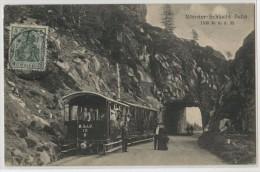 88 - MUNSTER SCHLUCHT BAHN - France