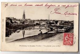 FONTENAY LE COMTE VUE GENERALE PRISE DU PORT 1904 (LOT S13) - Fontenay Le Comte