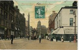 Newcastle Blackett Street  Tram - Newcastle-upon-Tyne
