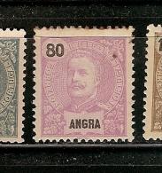 Portugal * &  Angra, D. Carlos I, 1897 (21) - Angra