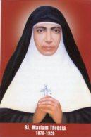 Santino Grande SERVANT BLESSED MARIAM THRESIA - PERFETTO H70 - Religión & Esoterismo