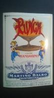 Etichetta - Punch Liquore Mandarino, Martino Balbo - Etichette