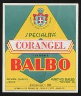 Etichetta - Corangel Balbo Liquore, Martino Balbo - Non Classificati