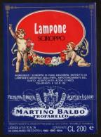 Etichetta - Lampone Sciroppo, Martino Balbo - Etichette