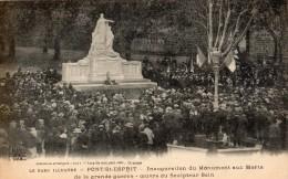 PONT-SAINT-ESPRIT INAUGURATION DU MONUMENT AUX MORTS DE LA GRANDE GUERRE OEUVRE DU SCULTEUR SAIN - Pont-Saint-Esprit