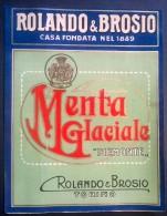 """Etichetta - Menta Glaciale """"Piemonte"""" - Rolando E Brosio - Etichette"""