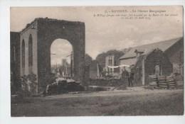 GIVONNE.LA FILATURE BOURGUIGNON.LE VILLAGE INCENDIE EN AOUT 1914 - Autres Communes