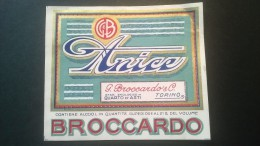 Etichetta - Anice - G. Broccardo & C. - Etichette