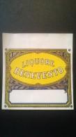 Etichetta - Liquore Benevento - Etichette
