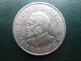 KENYA 1978  ONE SHILLING  KENYATTA Copper-Nickel  USED COIN In VERY GOOD CONDITION. - Kenya