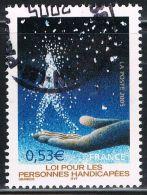 FRANCE : N° 3803 Oblitéré (30ème Anniversaire De La Loi Sur Le Handicap) - PRIX FIXE - - France