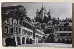 Thun Rathausplatz Mit Schloss Viaggiata - BE Berne