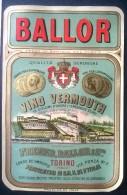 Etichetta - Vino Vermouth - Freund, Ballor E C. - Etichette