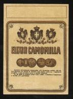 Etichetta - Elixir Camomilla - Etichette