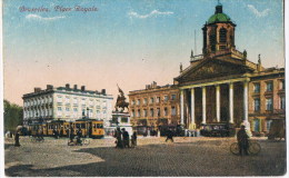 Bruxelles  Place Royale  Tram - België
