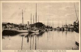 14 - DEAUVILLE - Yachts - Deauville