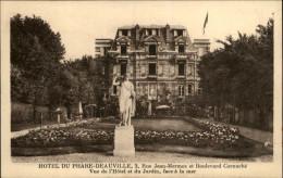 14 - DEAUVILLE - Hotel Du Phare - Carte Pub Hotel - Deauville