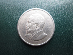 KENYA 1968  FIFTY CENTS   KENYATTA Copper-Nickel  USED COIN In Good CONDITION. - Kenya