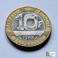 Francia - 10 francos - 1988