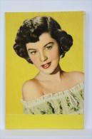 1955 Small/ Pocket Calendar - Cinema/ Movie Actress: Barbara Bates - Calendarios