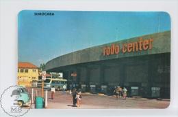 1975 Small/ Pocket Calendar - Sorocaba, Rodo Center, Brasil - Calendarios