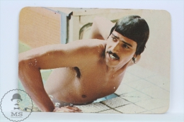 1974 Small/ Pocket Calendar - Mark Spitz - 7 Gold Medals Swimmer - Tamaño Pequeño : 1971-80