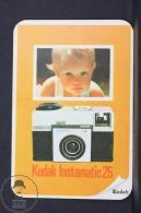 1968 Small/ Pocket Calendar - Kodak Instamatic 25 Advertising - Calendarios