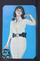 1968 Small/ Pocket Calendar - Movie/ Cinema Actress: Raquel Welch In Fantastic Voyage - Calendriers