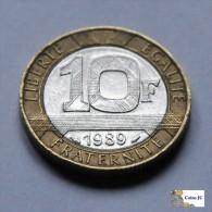 Francia - 10 francos - 1989