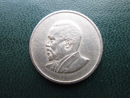 KENYA 1966  FIFTY CENTS   KENYATTA Copper-Nickel  USED COIN In GOOD CONDITION. - Kenya