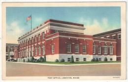 Post Office, Lewiston, Maine - Lewiston