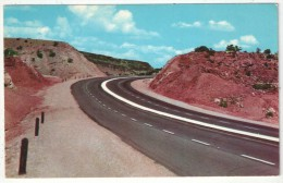 Four Lane Highway Between Albuquerque And Santa Fe, New Mexico - Highway U.S. 85 - Etats-Unis