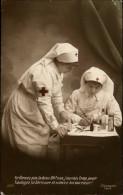 MILITARIA - Croix Rouge - Infirmère - Croix-Rouge