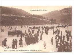 Patinage Sur Les Bassins Du Doubs (25) - Frontière Franco-suisse (état) - Frankreich