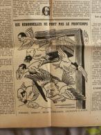 * G R I N G O I R E * Hebdo.Paris, Caricatures ,1941:Russie ,Belgique,juifs étrangers... - Other