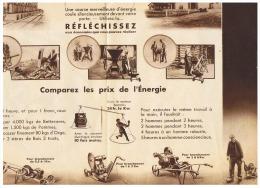 RECORD   MOTEURS  ELECTRIQUES  SPECIAUX  Ets Vve DROUARD & CILLOT à PARIS - Agriculture