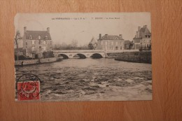 Carte Postale Ancienne Ducey Le Pont Neuf - Ducey