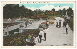Scene In Garfield Park, Indianapolis, Ind. - Indianapolis