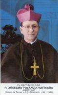 Santino SIERVO DE DIOS P. ANSELMO POLANCO FONTECHA Agustino - PERFETTO H70 - Religione & Esoterismo