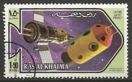 RAS AL KHAIMA N° ?  OBLITERE - Space