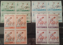 R2 - Lebanon Liban 1963 Centenary Of Red Cross Complete Set MNH Nurse Baby - Blks/4 - Lebanon