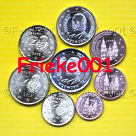 Spanje - Espagne - 1 Cent Tot 2 Euro Unc 2008. - Espagne
