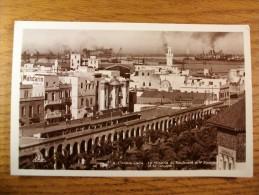 Carte Postale Casablanca Maroc La Kisaria Du Boulevard Du 4° Zouave Et La Douane - Casablanca