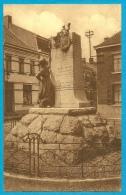 CPA BELGIE BELGIQUE - FRAMERIES - Monument Bosquétia ° Editeur Gaston Liénard * Ecureuil - Frameries