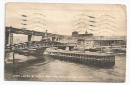 I2936 Newcastle Upon Tyne - High Level & Swing Bridges / Viaggiata 1920 - Newcastle-upon-Tyne